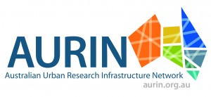 AURIN logo with website