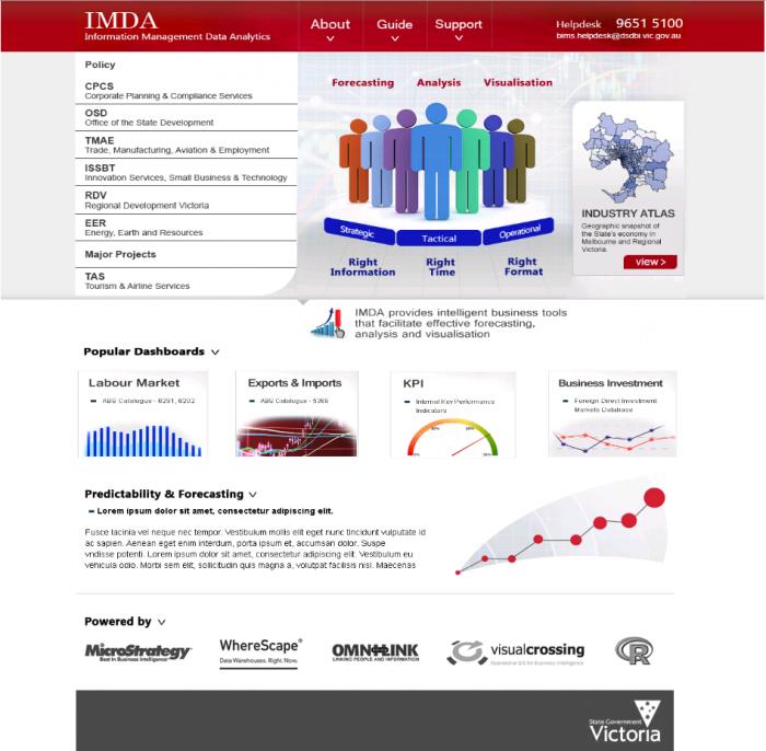 IMDA Home Page